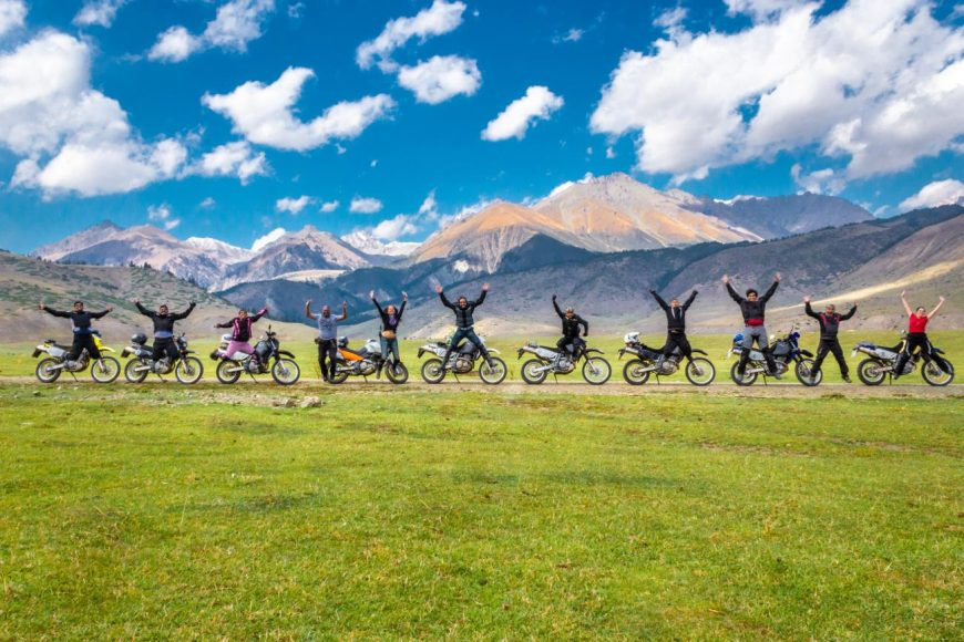 Silk Route Motorcycle Tour 2019