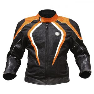 Rynox Tornado Pro L2 Jacket (Orange)