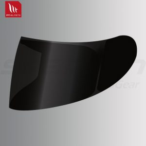 MT - V09 Pin-lock ready Smoke Visor for Kre Helmet