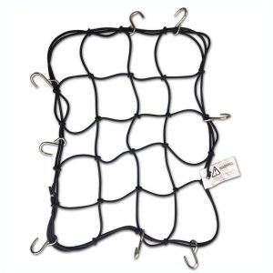 MOTOTECH Metal Hook Bungee Net – 4mm