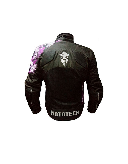 MOTOTECH Scrambler Air Women's Motorcycle Jacket – Purple – Level 2 2