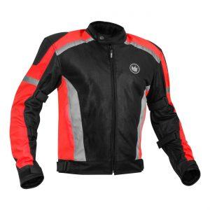 Rynox Helium Jacket Red