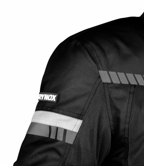 RYNOX AIR GT 3 JACKET Black White