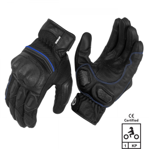Rynox Tornado Blue Gloves
