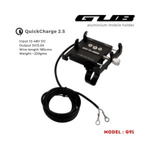 GUB mount with charger