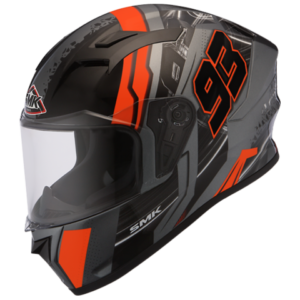 MK Stellar 93 Swank Matt Anthracite Orange