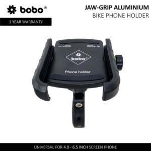 BOBO Jaw-Grip Aluminium Bike / Cycle Phone Holder Motorcycle Mobile Mount