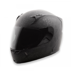 FLY RACING REVOLT FS INK & NEEDLE (MATTE FLAT BLACK)
