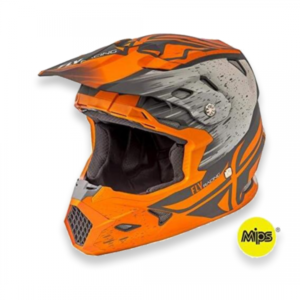FLY RACING TOXIN MIPS EMBARGO (MATT ORANGE KHAKI)