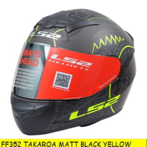 TAKAROA MATT BLACK YELLOW