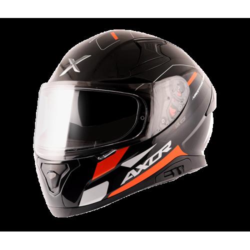 Axor Apex Turbine Gloss Black Orange