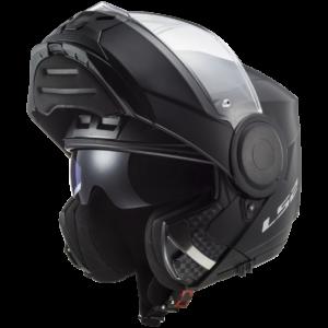 LS2 FF902 SCOPE SOLID MATT BLACK (FLIP UP / MODULAR)