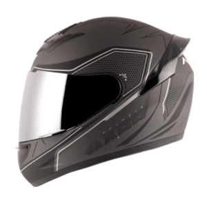 Axor Rage Ecco Dull Athena Grey Black Helmet