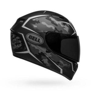 Bell Qualifier Stealth Camo Matt Black White Helmet
