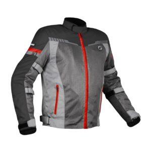 RYNOX AIR GT 3 JACKET Grey Red