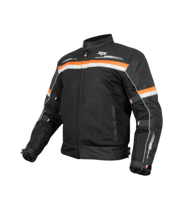 XTS Airhead Riding Jacket – Black Orange