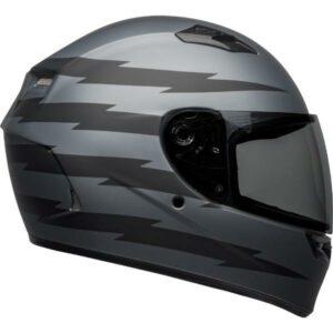Bell Qualifier Z-Ray Matt Black Grey Helmet