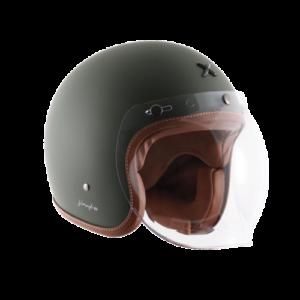 Axor Retro Jet Battle Green with Bubble Visor