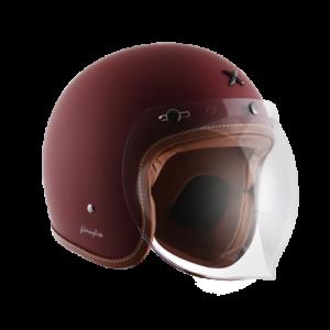 Axor Retro Jet Chestnut Red with Bubble Visor