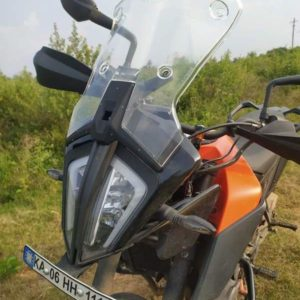 CarbonRacing KTM 390 Adventure Windshield - Ultimate Combo Package - Clear