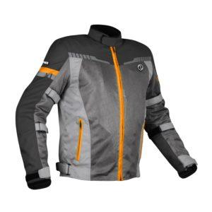 RYNOX AIR GT 3 JACKET Dark Grey Orange
