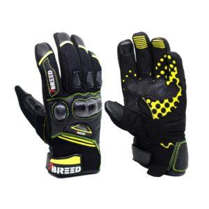 TBG FLAIR Riding Gloves - Fluoro